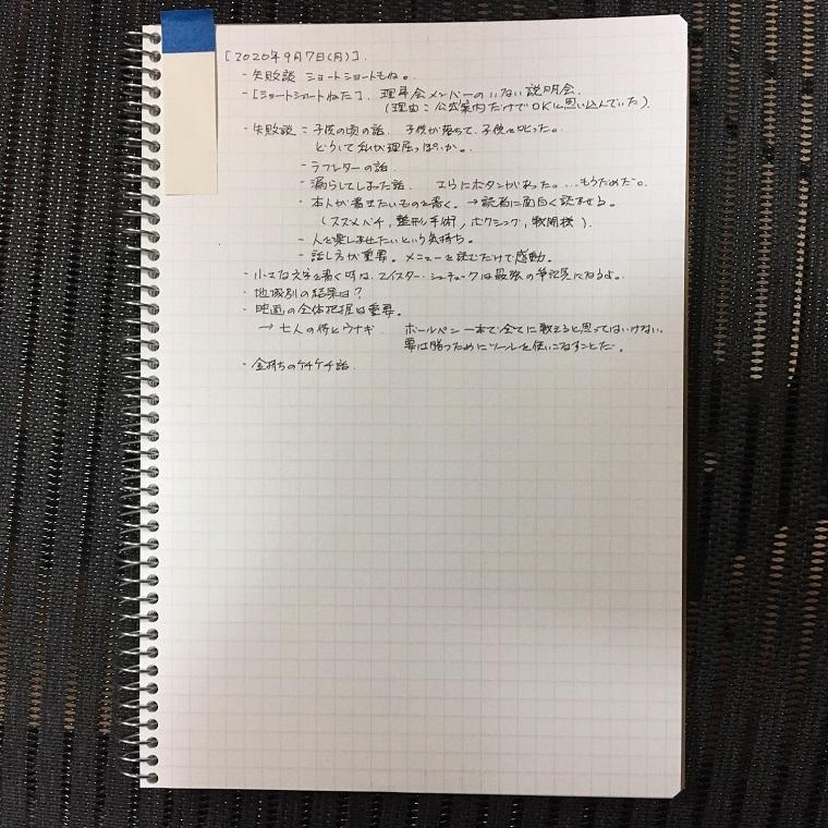 ほぼ日手帳と0.28mm