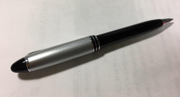 万年筆のようなボールペンのイプシロン